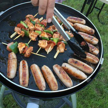 BBQ - Camping & Caravanning at Gabriels Fishery, Kent