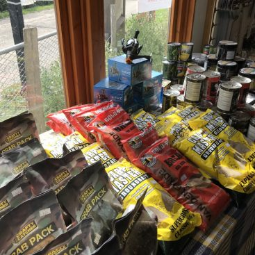 Bait and Tackle Shop at Gabriels Fishery